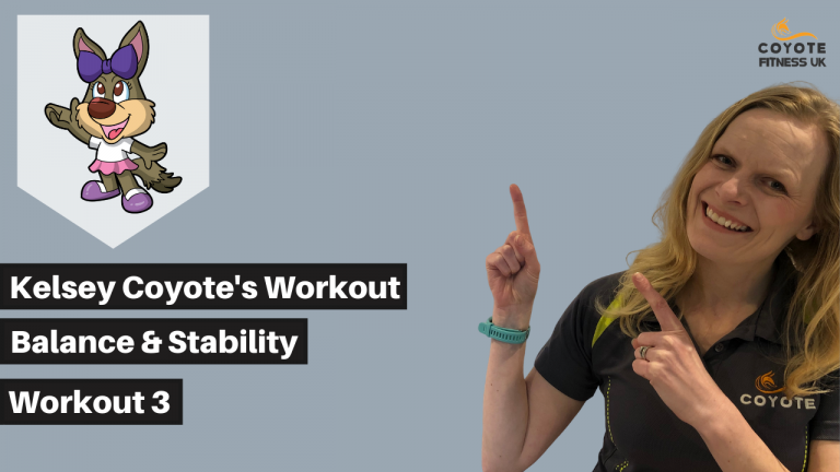 Kelsey's Balance and Stability Workout 3